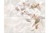 Agat Beige Set Orchid панно