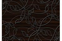 Джаз коричневый декор