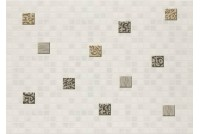 Квадро мозаика белый