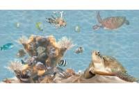 Лазурь Водный мир Панно (из 12шт)
