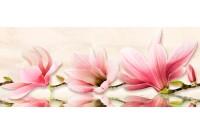 Мираж серо-розовая декор