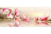 Мираж серо-розовая панно (4 шт.)
