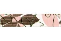 Ретро коричневый Бордюр