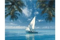 Ocean Sailboat Панно