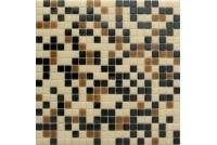 MIX15 черно-коричневый (сетка)  чип15*15 NS mosaic