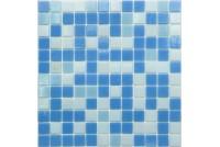 MIX20 бело-сине-голубой (сетка) чип25*25
