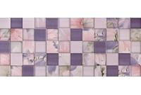 Aquarelle lilac рельеф wall 03