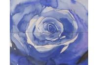 Arabeski blue 02 панно