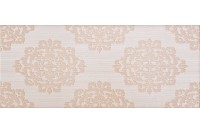 Fabric beige wall 03
