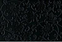 Аджанта Цветы черный 8217