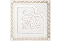Камея белый вставка PQ104177, 130х130