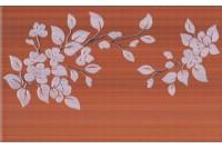 Кензо терракотовый декор Цветы на темном