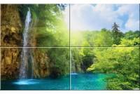 Кензо Панно из стекла Водопад тип-1 50х80