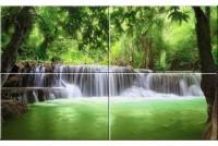 Кензо Панно из стекла Водопад тип-2 50х80