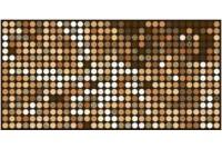 Кристи декор коричневый (04-01-1-10-03-15-821-0)