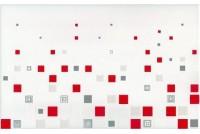 Kwant bialo-czerwony Декор