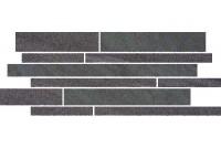 Arkesia Grafit Paski Mix Бордюр 20x52