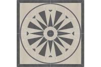 Arkesia Grys Rozeta декор 90 x 90