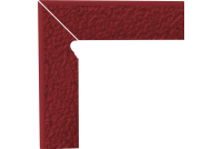 Natural Rosa Duro Цоколь структурный двухэлементный левый