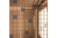 Зеркальная мозаика Бронза/Графит Б90Г10 с чипом 25 х 25