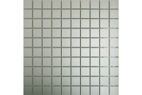 Зеркальная мозаика Серебро матовое См25 с чипом 25 х 25