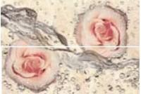 Museum Ivory Dec Wetfloral Панно (из 2-х плиток)