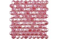 Hex Diamond 375D Red мозаика