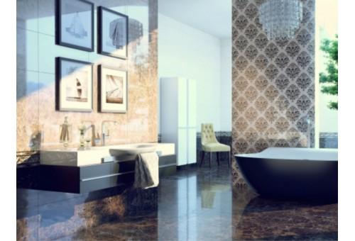Lorenzo Intarsia Golden Tile