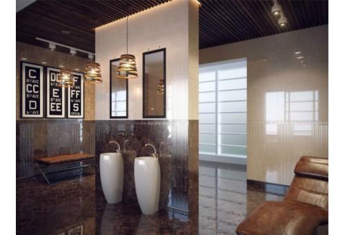 Lorenzo Modern Golden Tile