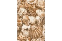 Sea Breeze Shells Golden Tile