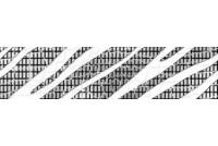 Кайман черный бордюр 60х250