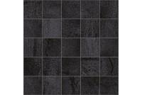 Metallica Декор мозаичный черный MM34034