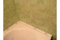 Уголок керамический для ванной. Бордюр для ванной.