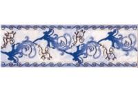 Магия бордюр синий