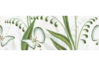 Нарцисс лето салатовый бордюр