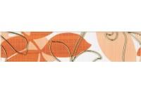 Ретро оранжевый Бордюр