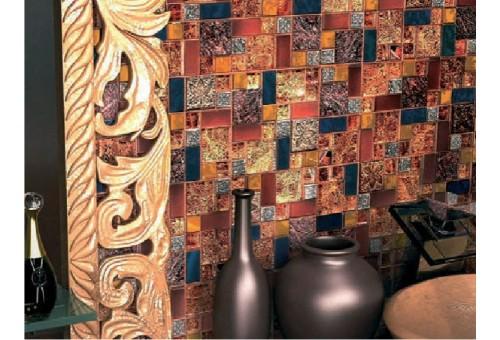 Мозаика Стеклянная с камнем Bonaparte