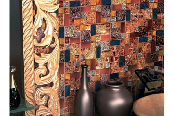 Стеклянная с камнем мозаика Bonaparte