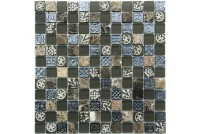 S-835 стекло камень NS mosaic