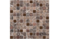 K-716 камень метал (298*298)14 Ns-mosaic