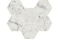 Charme Extra Carrara Мозаика Гексагон