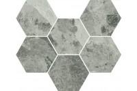Charme Extra Silver Мозаика Гексагон