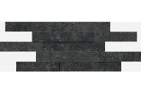 Room Brick 3D Black Stone 28x78