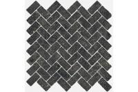 Room Mosaico Cross Black Stone 31,5x29,5