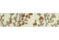 Сакура 3 бордюр цветы 62х275