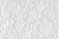 Аджанта Цветы белый 8216