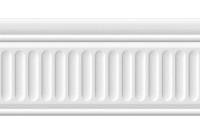 Бланше белый Бордюр структурированный 19048\3F
