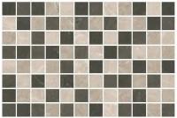 Эль-Реаль Декор мозаичный коричневый MM8322