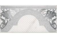Фрагонар Декор белый 7,4х15 HGD\A266\16071