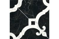 Фрагонар Декор наборный чёрный 1/4 розона ID89